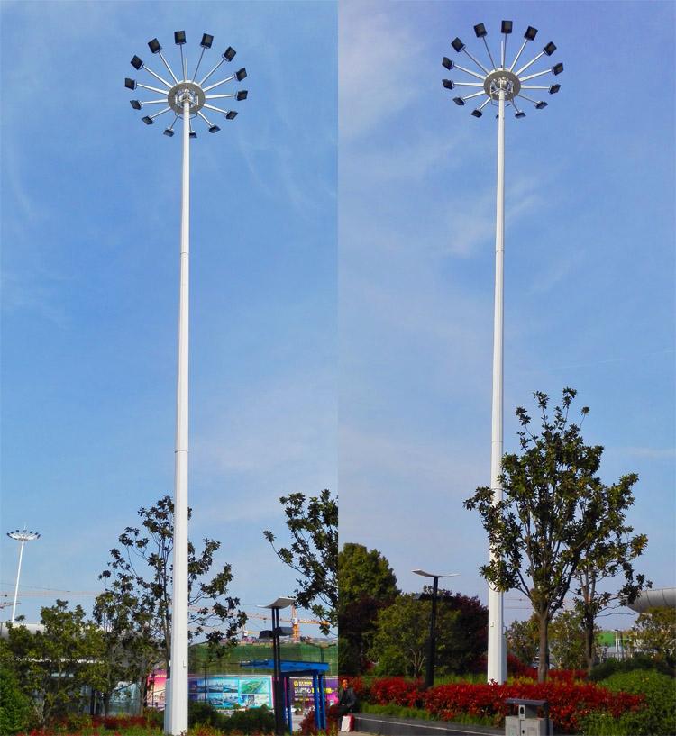 太陽能高桿燈樣品圖片