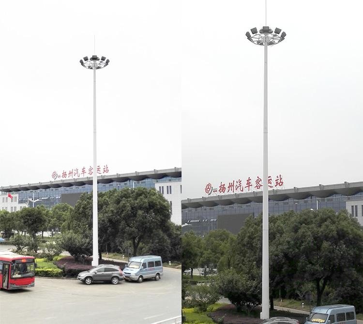 太陽能高桿燈工程案例