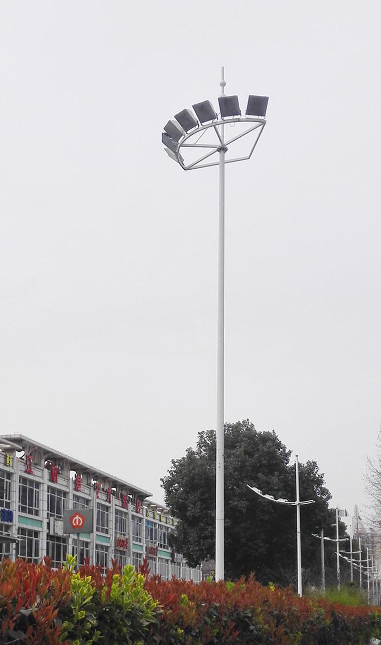 太陽能高桿燈項目圖片