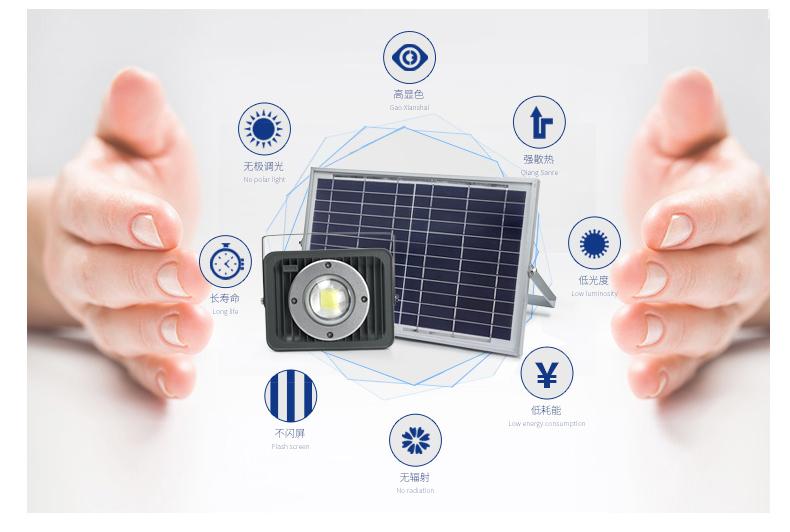 太陽能投光燈優點