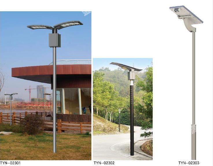 太陽能一體化路燈3