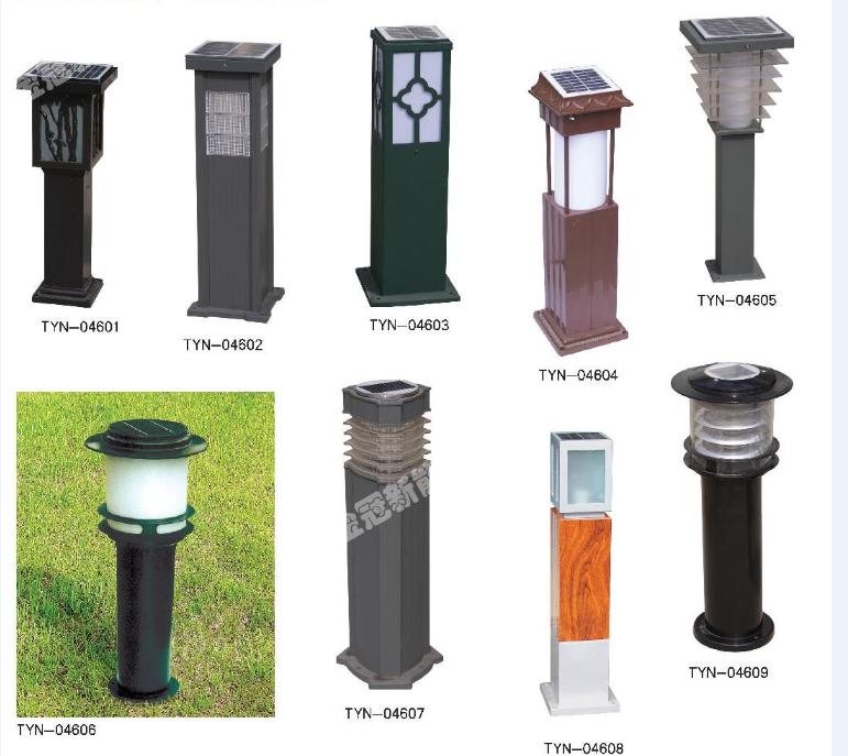 太陽能草坪燈產品圖片