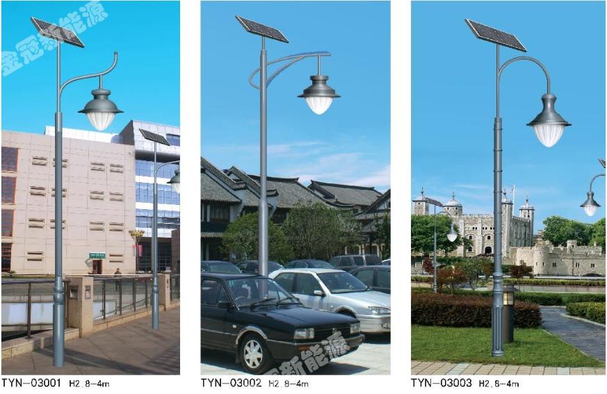 太陽能庭院燈圖片