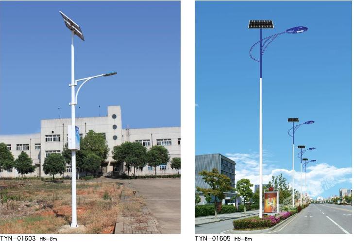 太陽能路燈-安裝效果